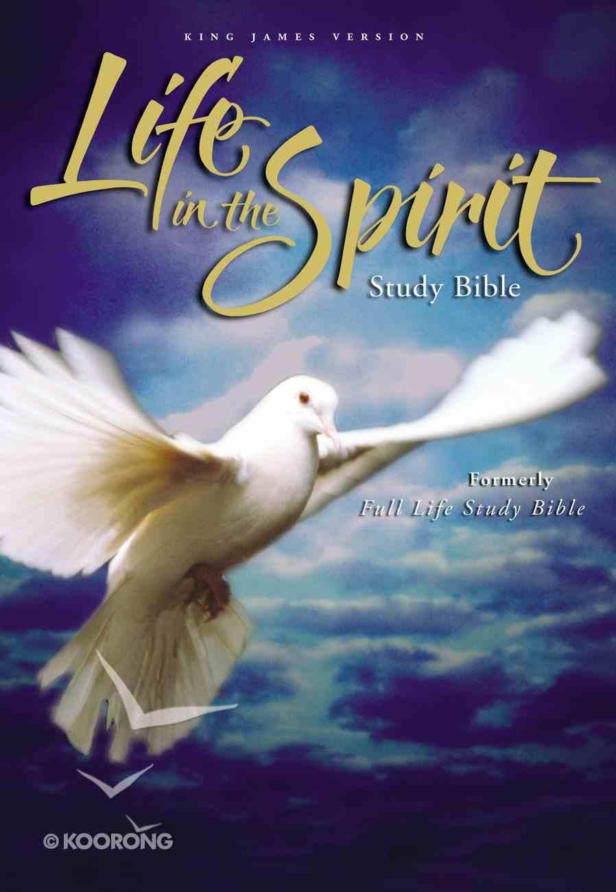 KJV Life in the Spirit Study Hardback