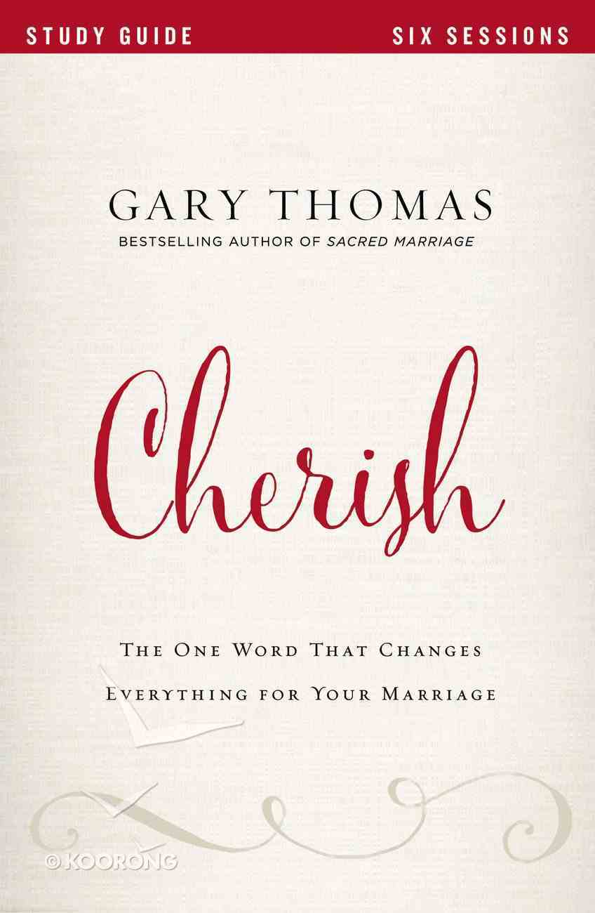 Cherish (Study Guide) Paperback