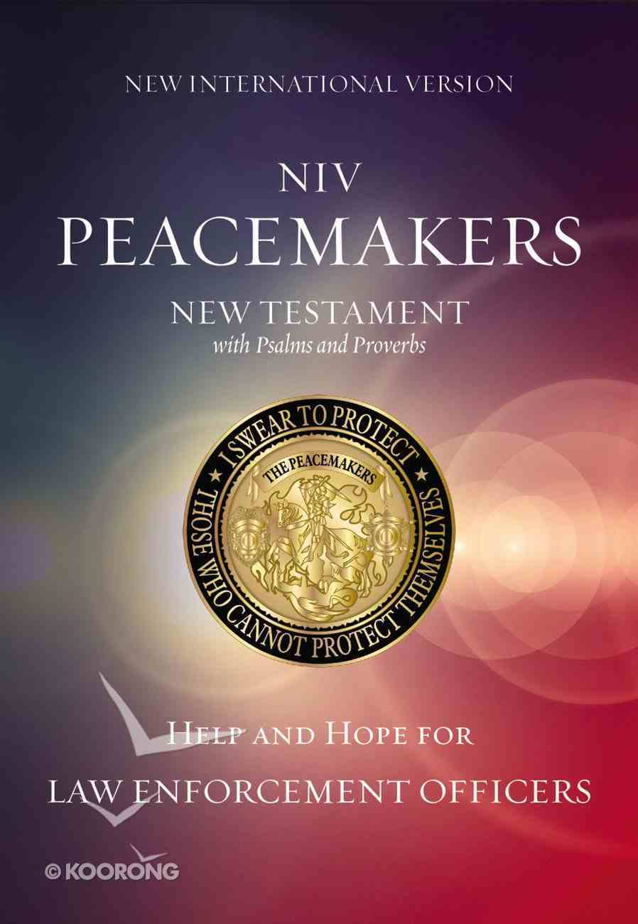 NIV Peacemakers New Testament With Psalms and Proverbs (Black Letter Edition) Paperback