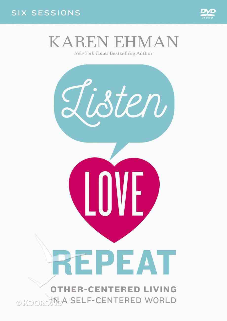 Listen, Love, Repeat (A Dvd Study) DVD