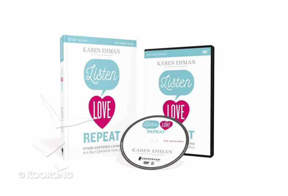 Listen, Love, Repeat (Study Guide With Dvd) Pack