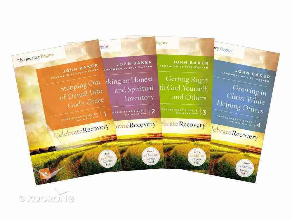 Crpg: Celebrate Recovery Volumes 1-4 the Journey Begins Set (Celebrate Recovery Series) Pack