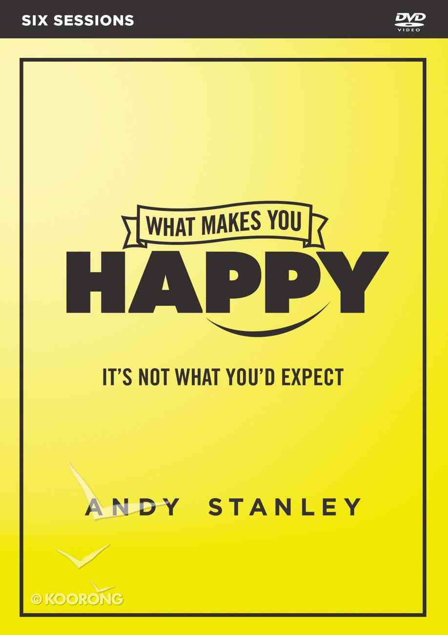 What Makes You Happy (Dvd Study) DVD