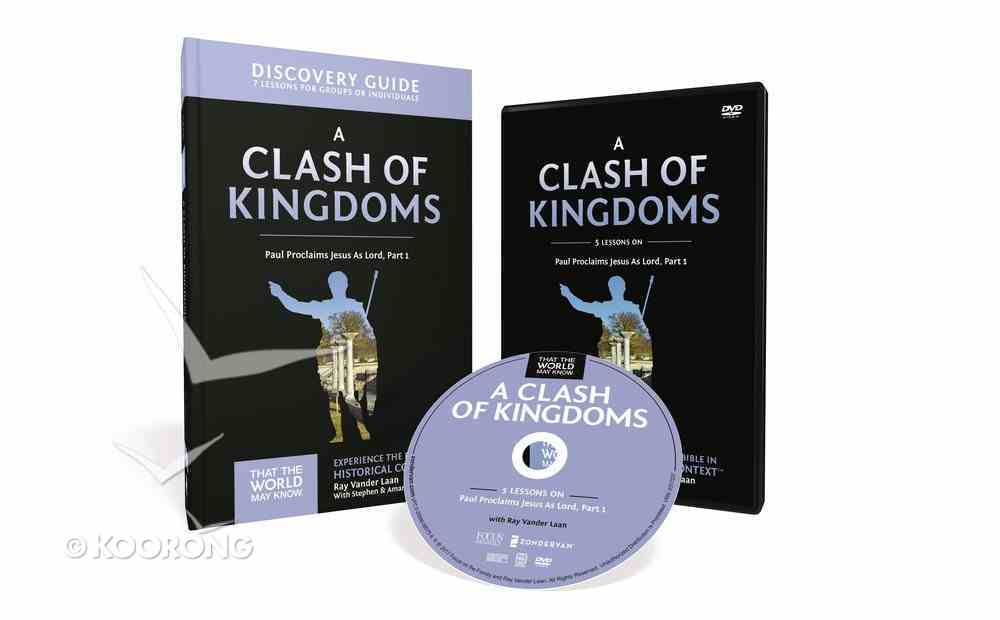 A Clash of Kingdoms (Discovery Guide With DVD) (#15 in That The World May Know Series) Pack