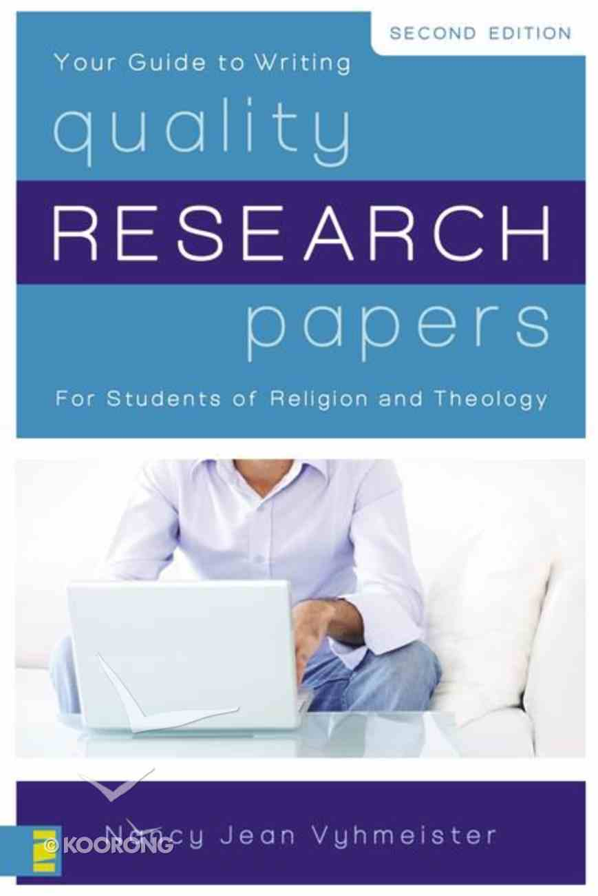 Quality Research Papers (Second Edition) Paperback