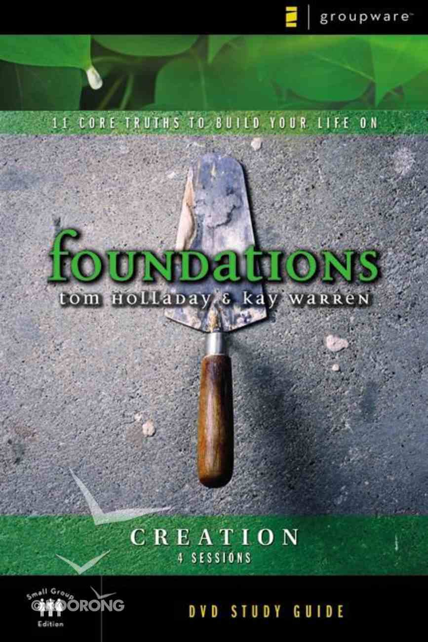 Foundations: Creation (Participant's Guide) Paperback