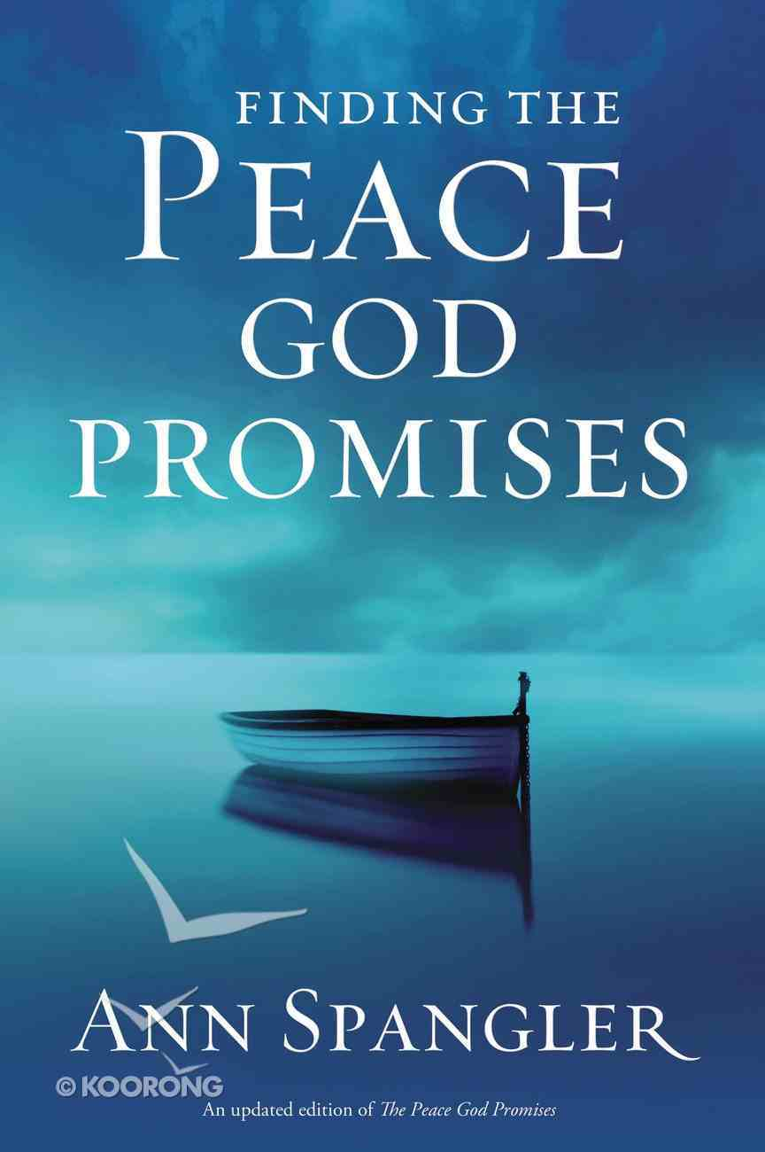 Finding the Peace God Promises Paperback