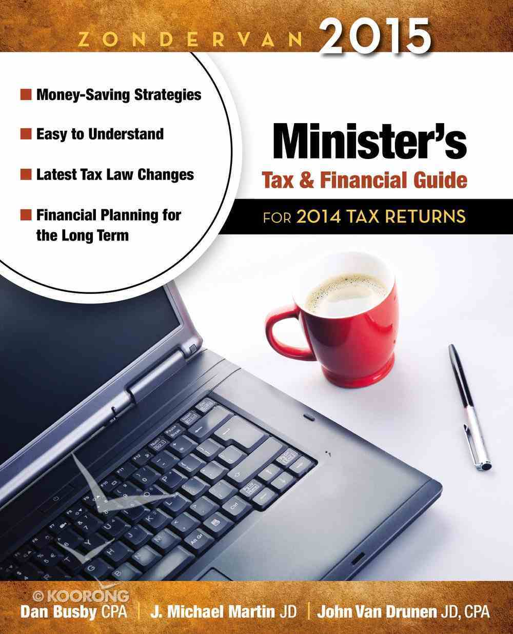 Zondervan 2015 Minister's Tax and Financial Guide Paperback