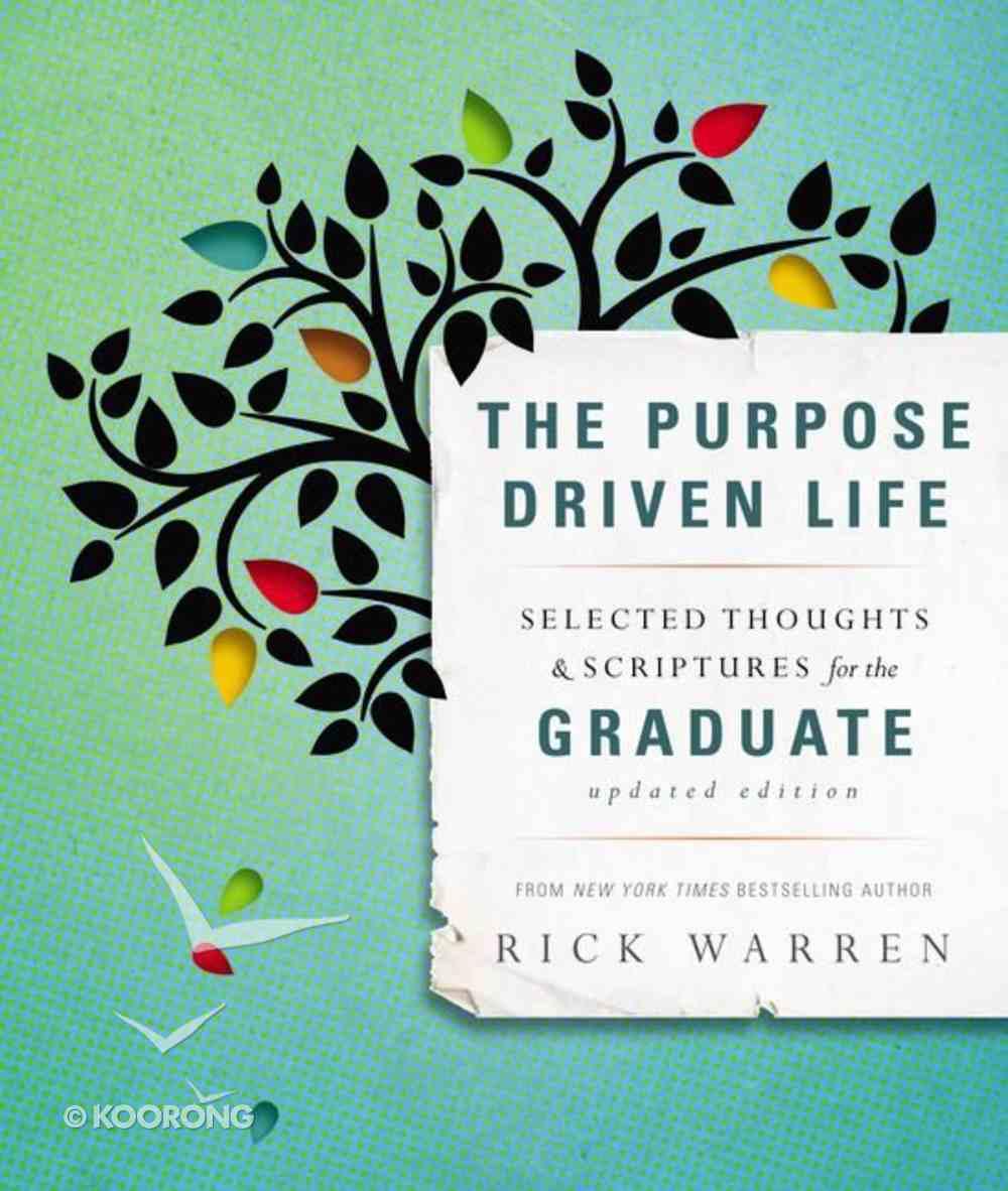Graduate Gift Book (The Purpose Driven Life Series) Hardback