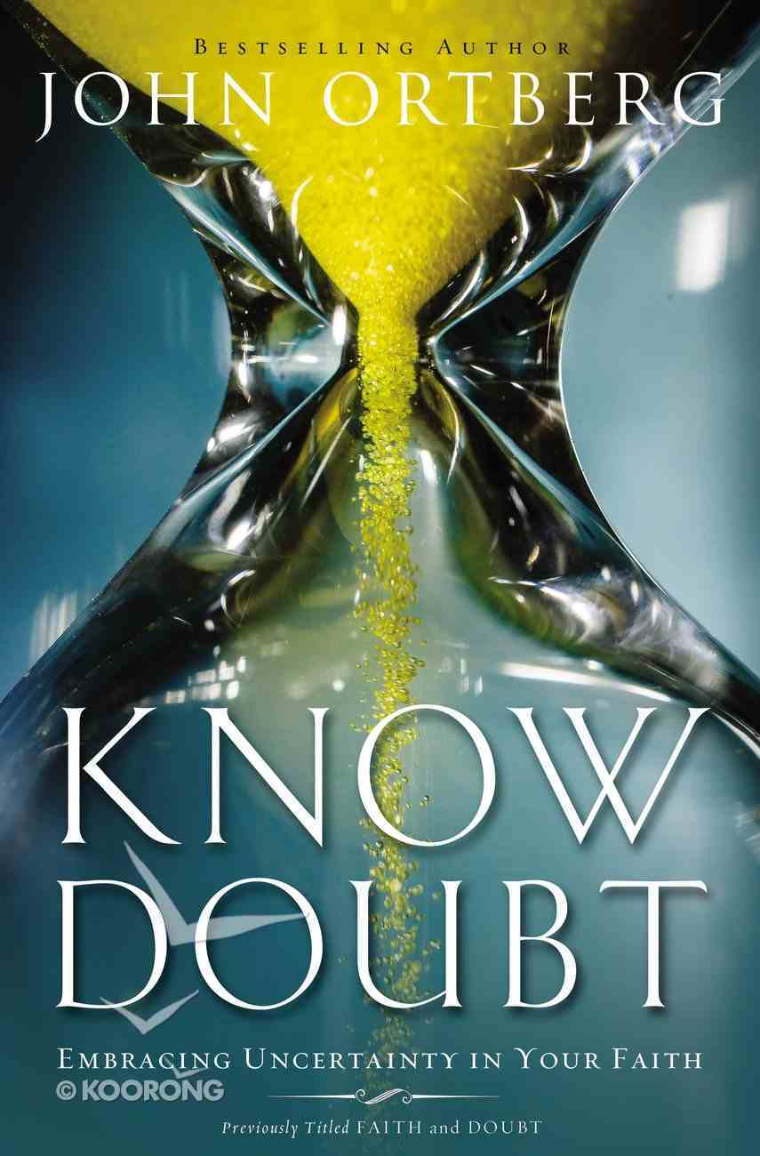 Know Doubt Paperback