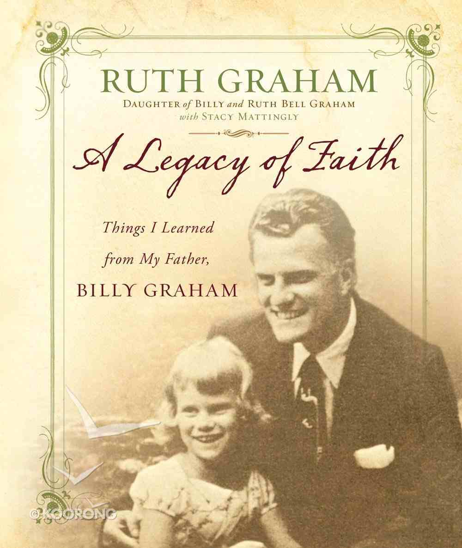 A Legacy of Faith Hardback