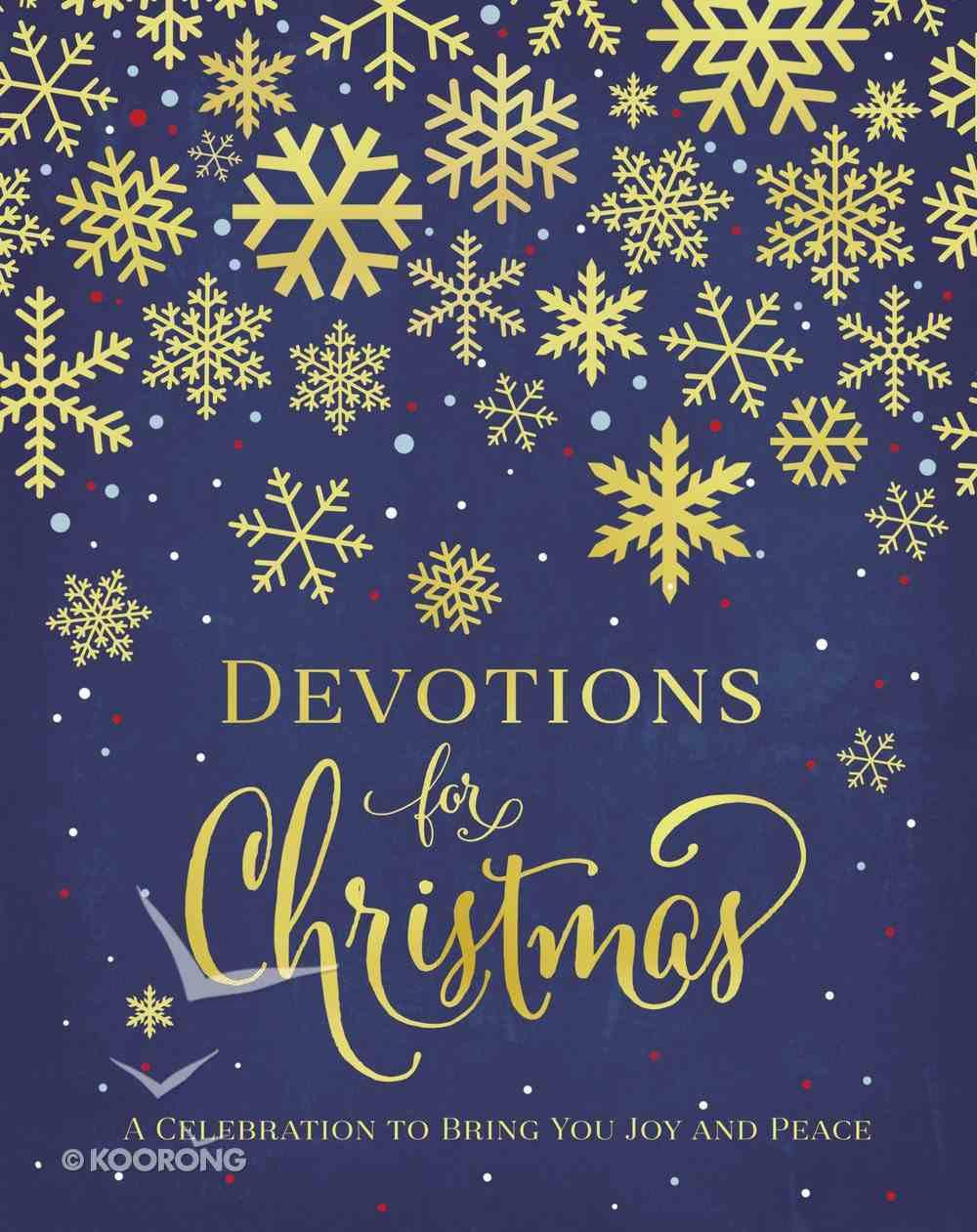 Devotions For Christmas Hardback