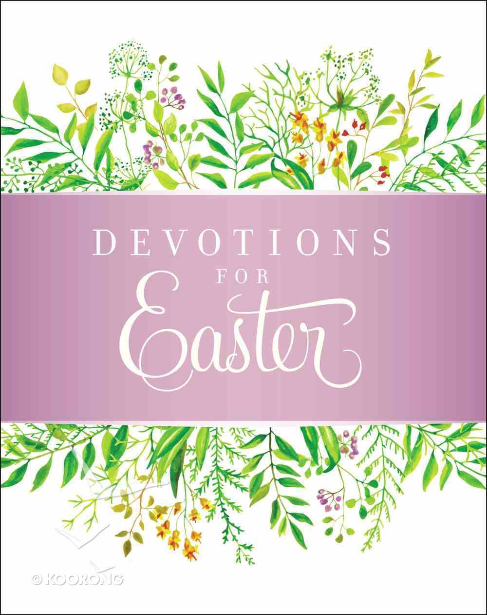 Devotions For Easter Hardback