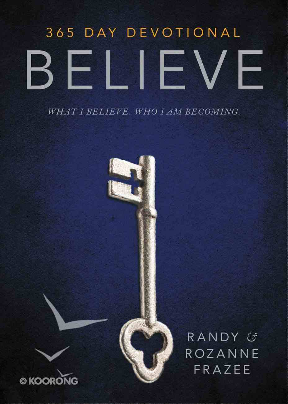 Believe Devotional Hardback