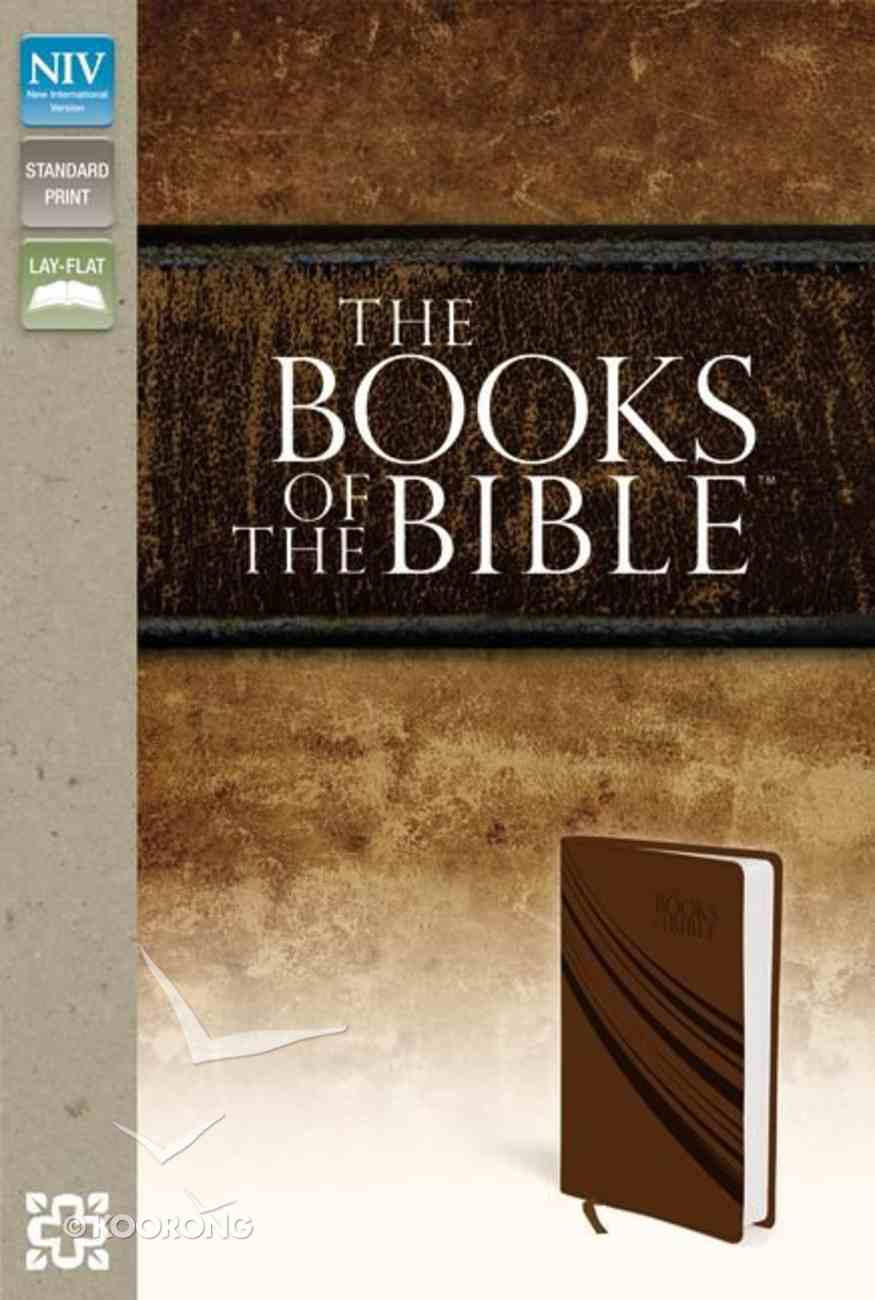 NIV Books of the Bible Brown Imitation Leather