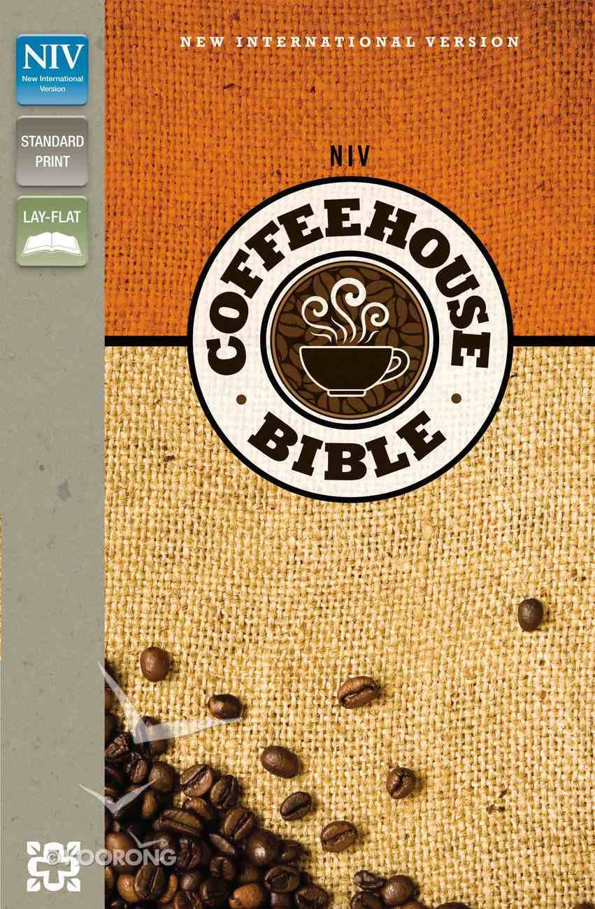 NIV Coffee House Bible Espresso/Caramel (Red Letter Edition) Imitation Leather