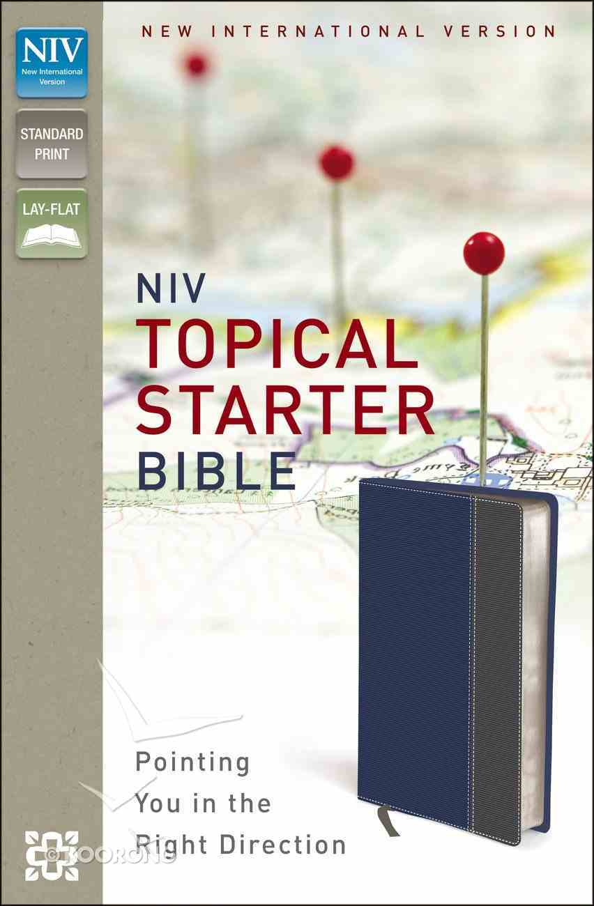 NIV Topical Starter Bible (Red Letter Edition) Imitation Leather