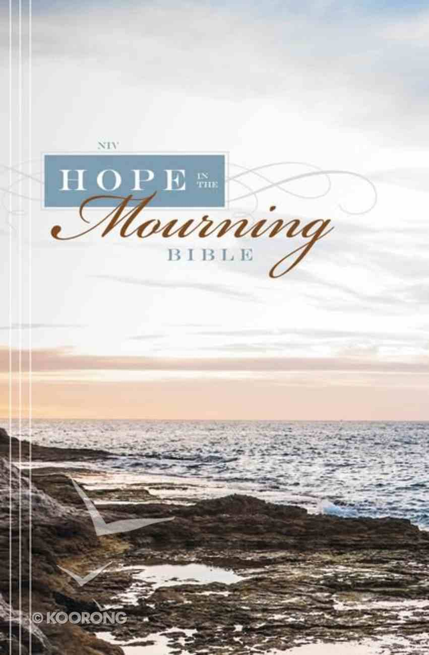 NIV Hope in the Mourning Bible Hardback
