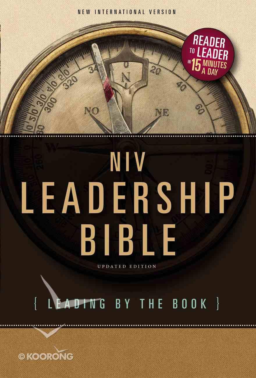 NIV Leadership Bible (Black Letter Edition) Hardback