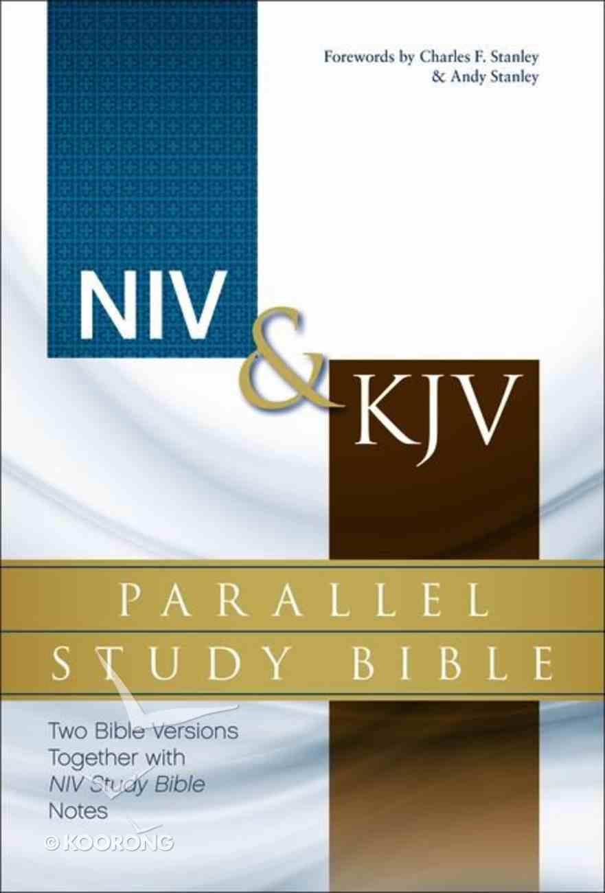 Niv/Kjv Side-By-Side Study Bible (Black Letter Edition) Hardback