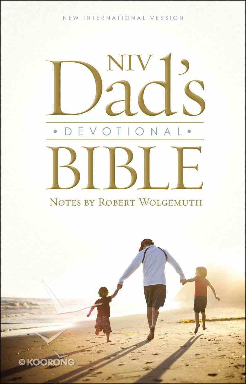 NIV Dad's Devotional Bible Hardback