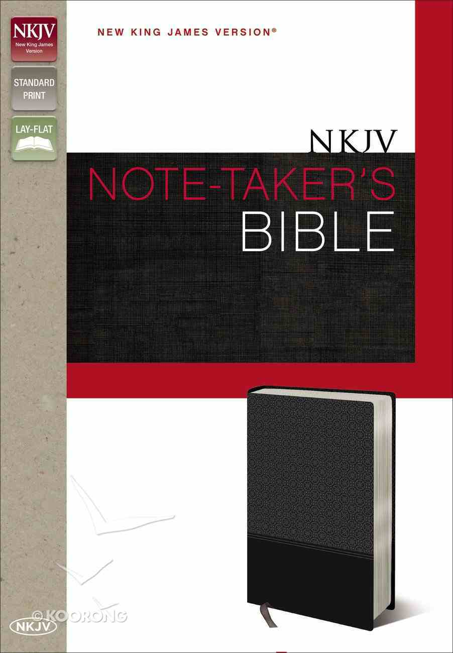 NKJV Note-Taker's Bible (Red Letter Edition) Imitation Leather