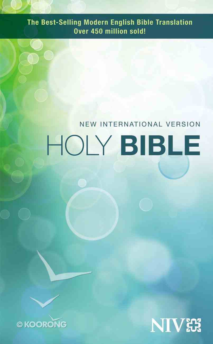 NIV Holy Bible Compact (Black Letter Edition) Paperback