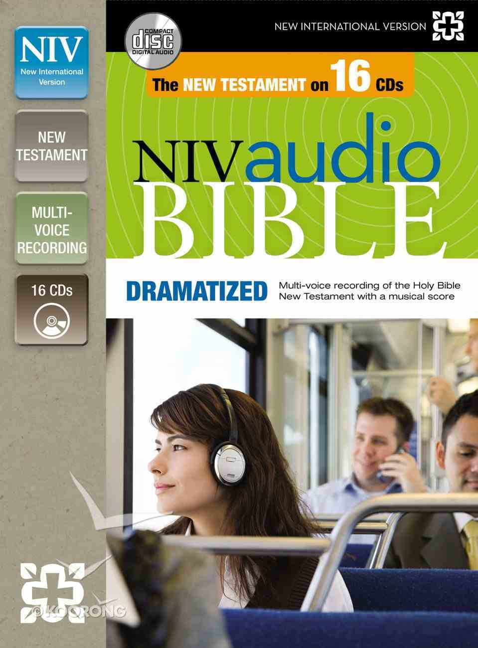 NIV Audio New Testament Dramatized (16 Audio Cds Undabridged 19 Hrs) CD