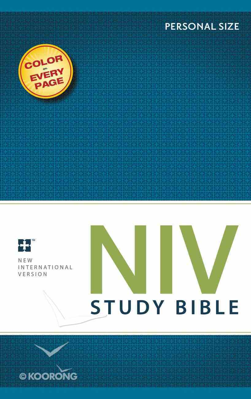 NIV Study Bible Personal (Red Letter Edition) Paperback