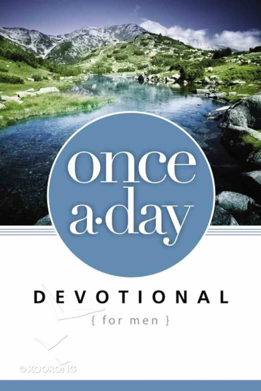Once-A-Day Devotional For Men Paperback