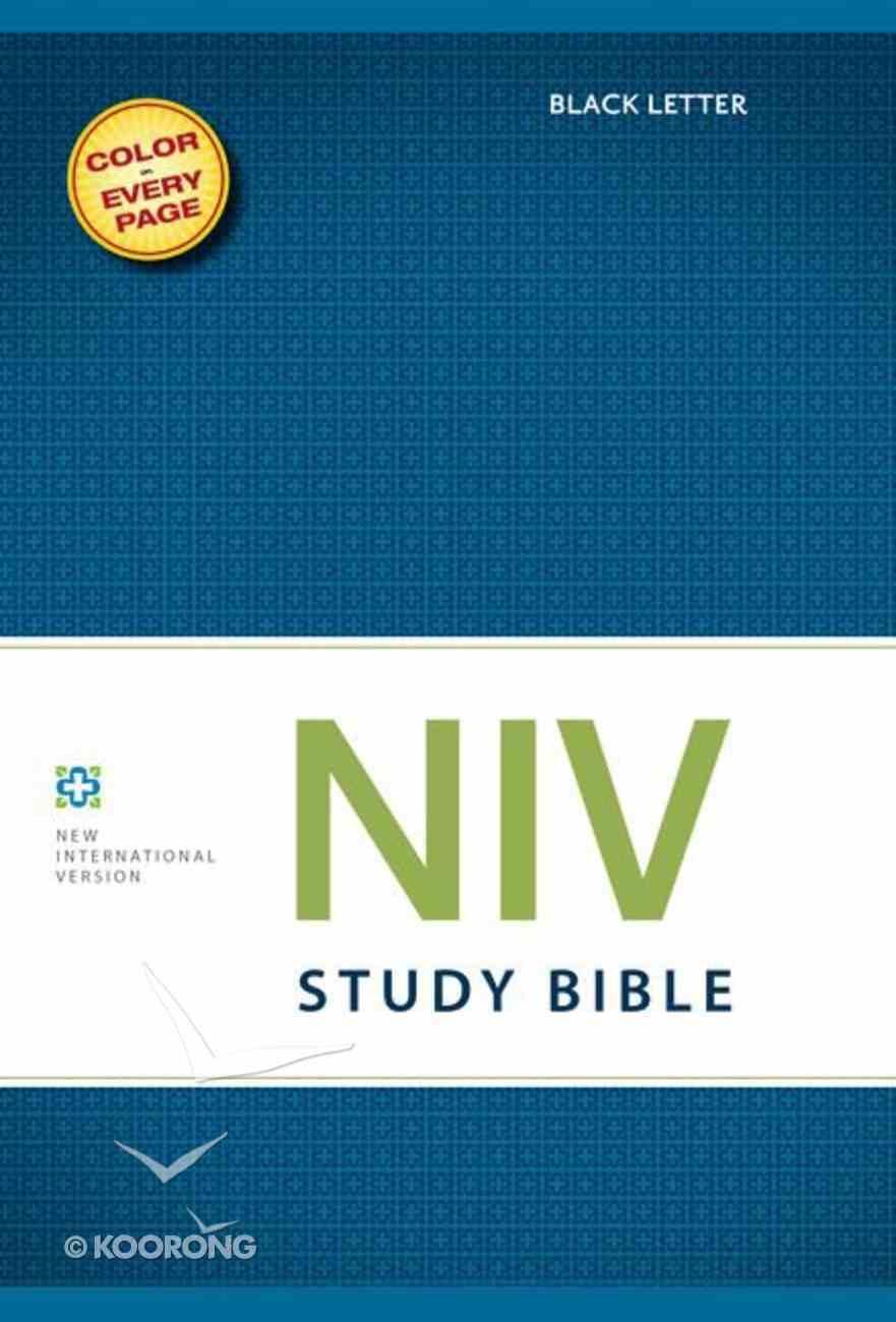 NIV Study Bible Regular (Black Letter Edition) Hardback