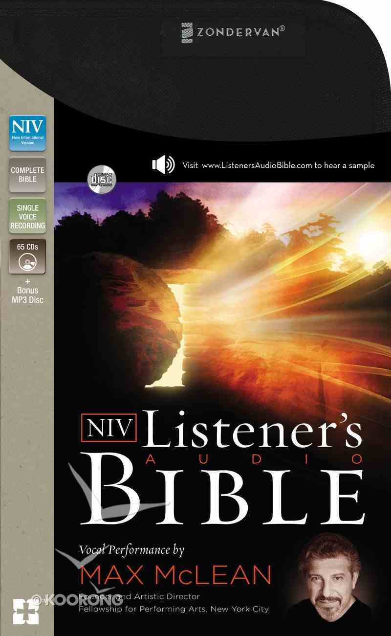 NIV Listener's Audio Bible Complete (Unabridged 75.37 Hrs) CD