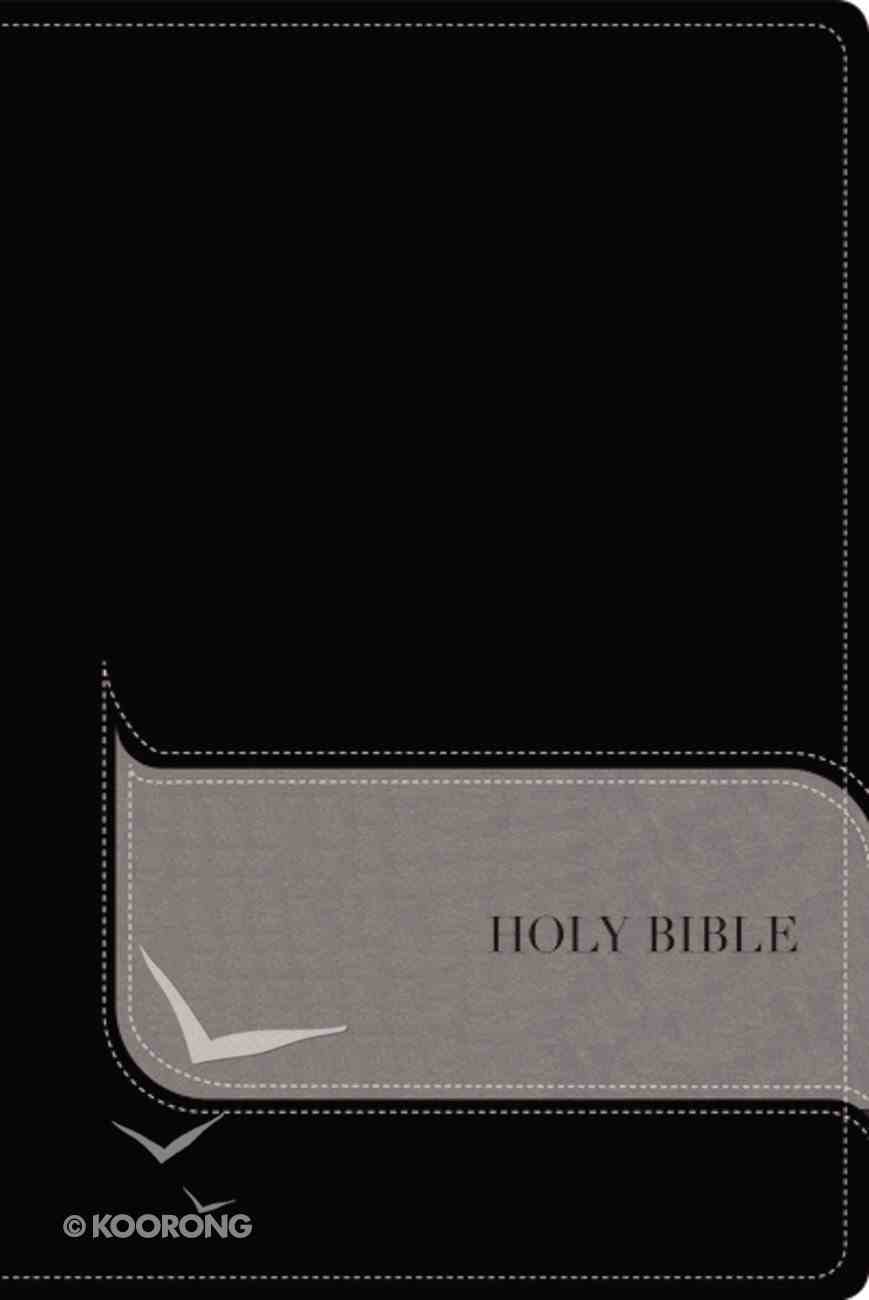 NIV Understand the Faith Study Indexed Bible Black/Gray Premium Imitation Leather