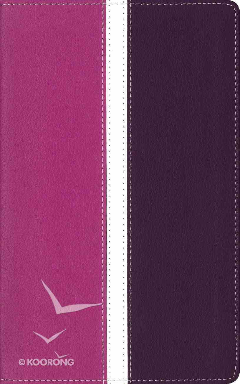 Amplified Holy Indexed Bible Dark Orchid/Deep Plum (Black Letter Edition) Premium Imitation Leather