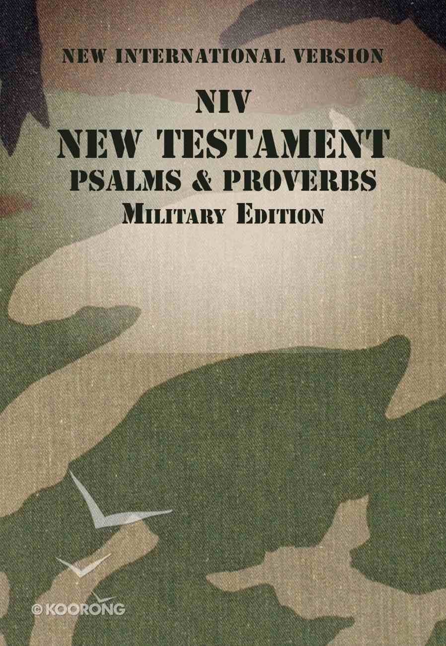 NIV New Testament With Psalms and Proverbs Woodland Camo (Black Letter Edition) Paperback