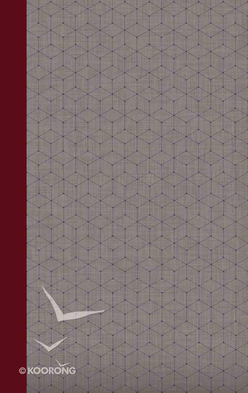 NIV Journal the Word Bible Red/Gray Hardback