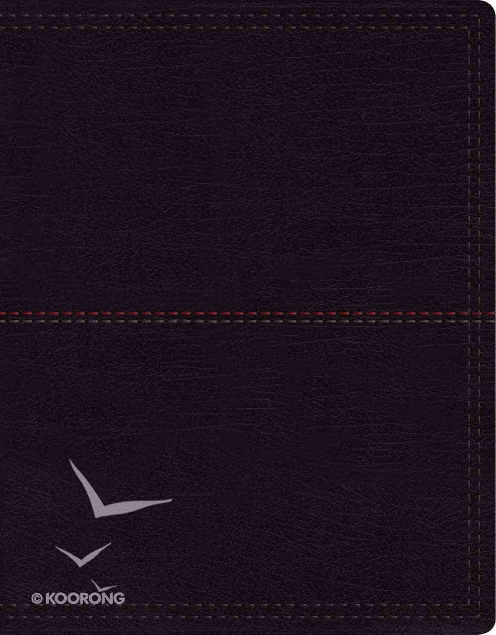 NIV Journal the Word Bible Large Print Black (Black Letter Edition) Premium Imitation Leather