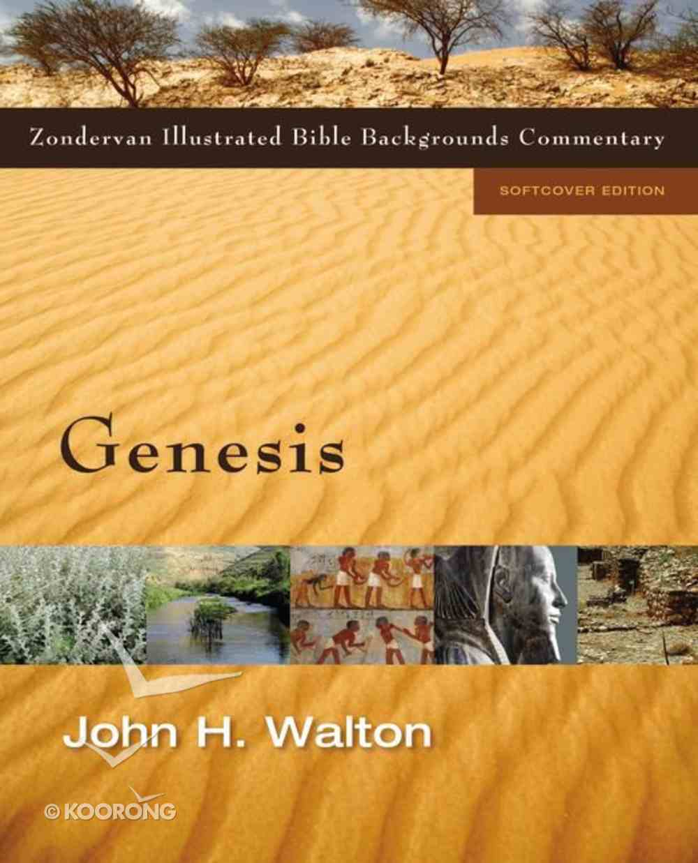 Genesis (Zondervan Illustrated Bible Backgrounds Commentary Series) Paperback