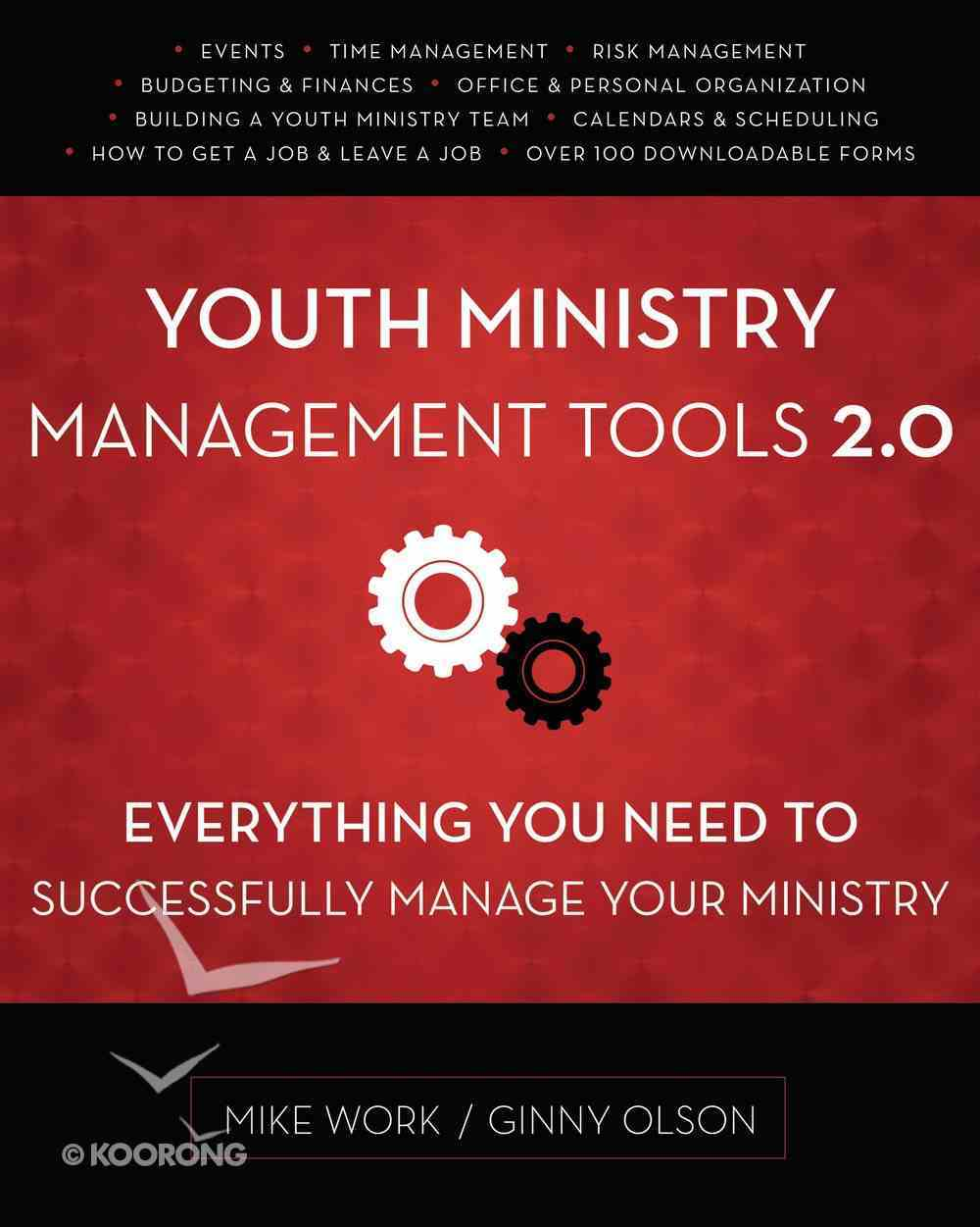 Youth Ministry Management Tools 2.0 Paperback