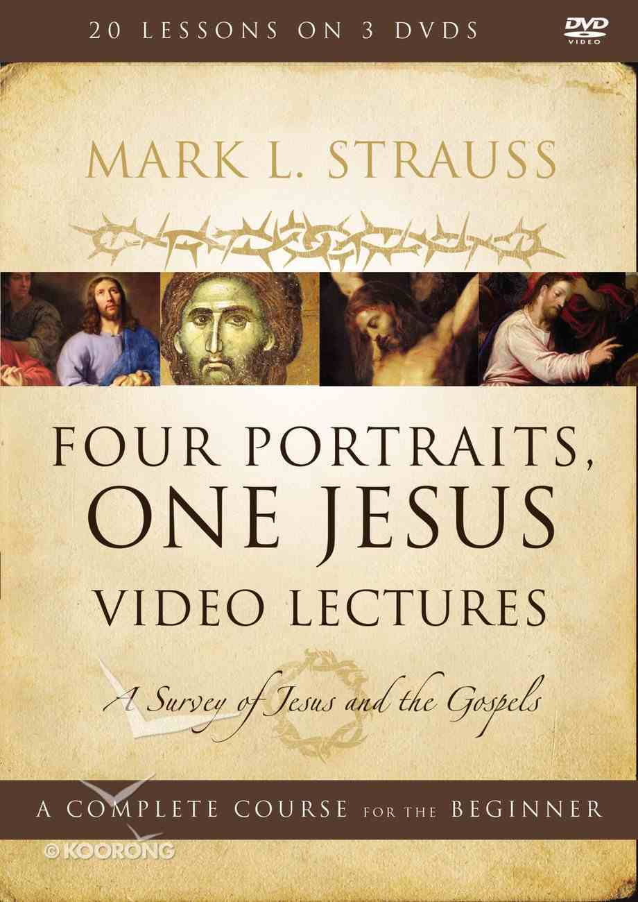 Four Portraits, One Jesus Video Lectures (DVD 10 Hrs) (Zondervan Academic Course Dvd Study Series) DVD