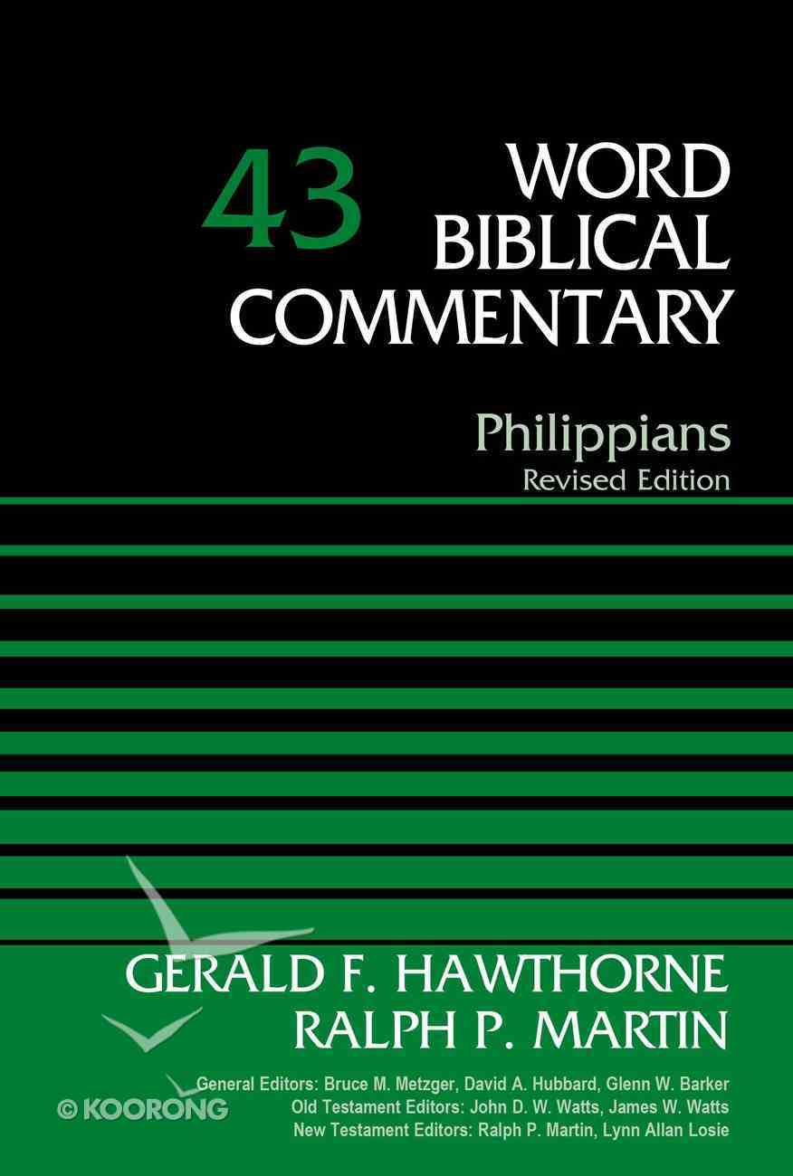 Philippians (Word Biblical Commentary Series) Hardback