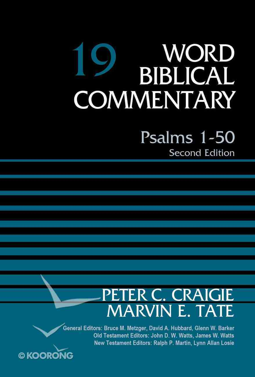 Psalms 1-50 (Word Biblical Commentary Series) Hardback