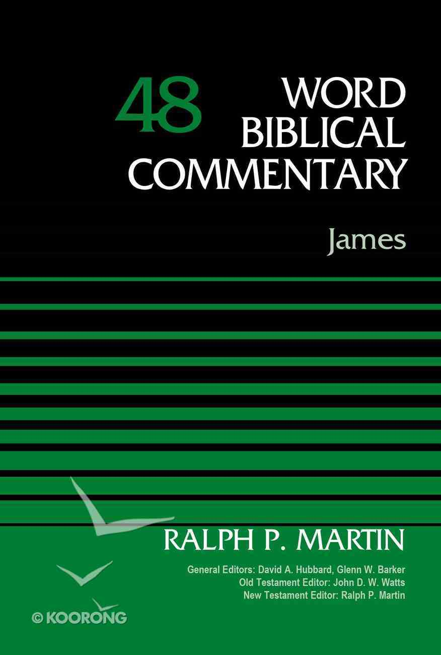 James (Word Biblical Commentary Series) Hardback