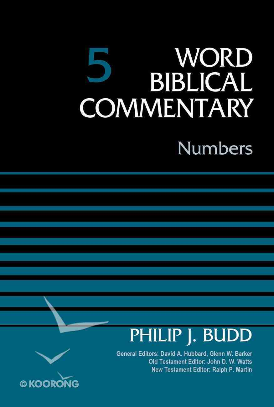 Numbers (Word Biblical Commentary Series) Hardback