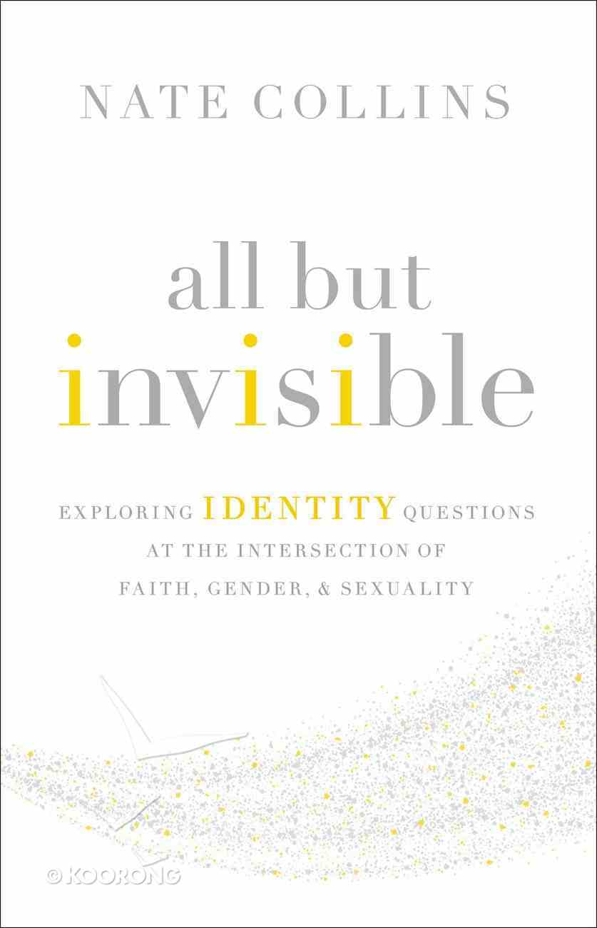 All But Invisible: Exploring Identity Questions At the Intersection of Faith, Gender, and Sex Paperback