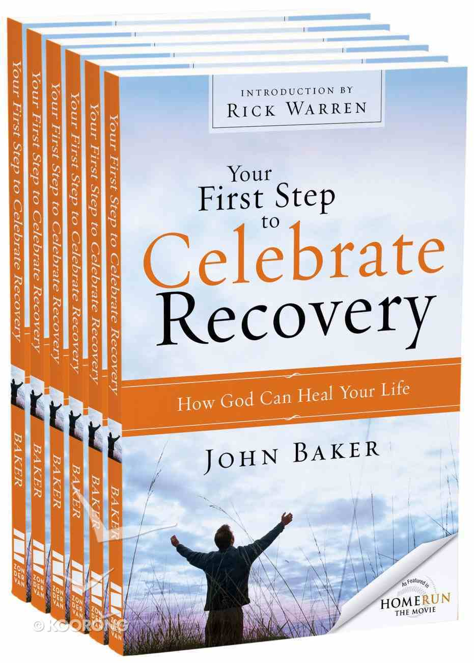 Your First Step to Celebrate Recovery (Outreach 6 Book Pack) Pack
