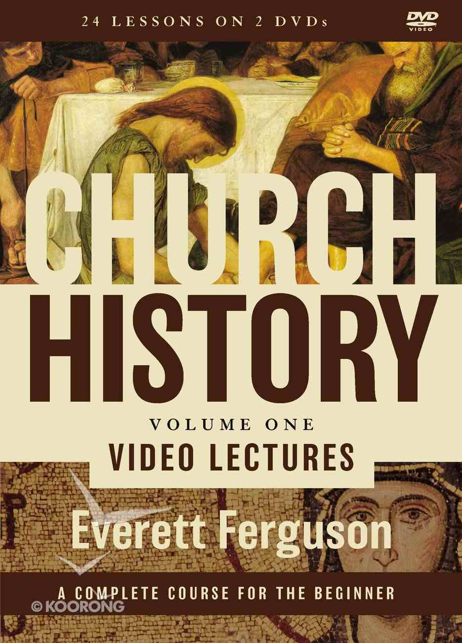 Church History, Volume One Video Lectures DVD