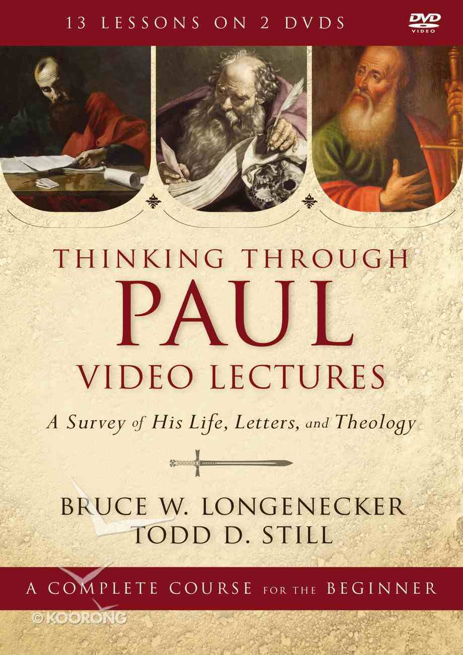 Thinking Through Paul Video Lectures DVD