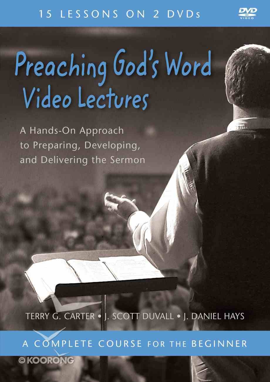 Preaching God's Word Video Lectures DVD