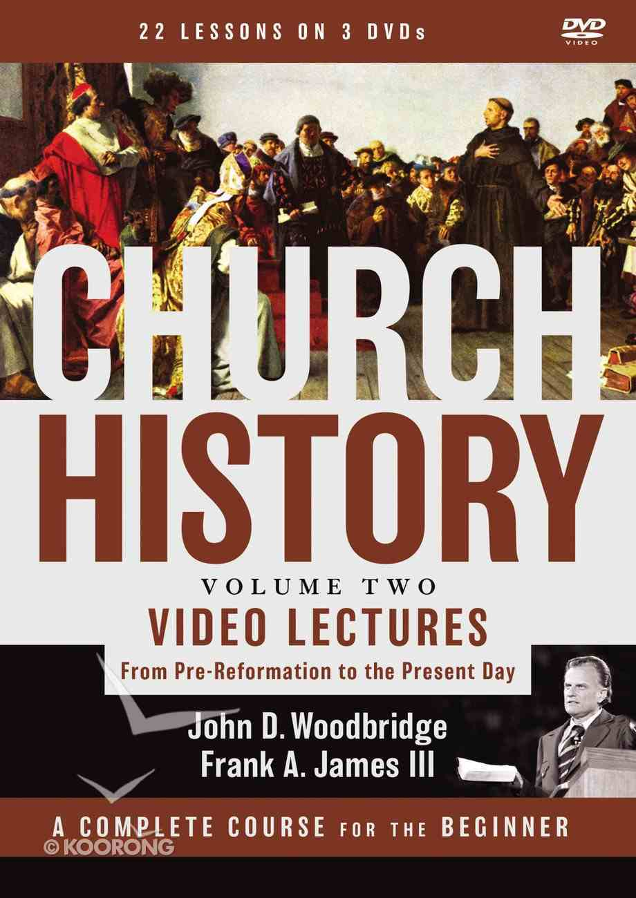 Church History, Volume Two Video Lectures DVD